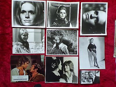 Carol White Orig Lot Of Photos 1960S + Linda + Poor Cow +The Man Who Had Power