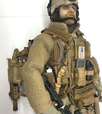 1/6 Scale Unbranded Custom US ARMY Special Forces Grenade Launcher Gunner for