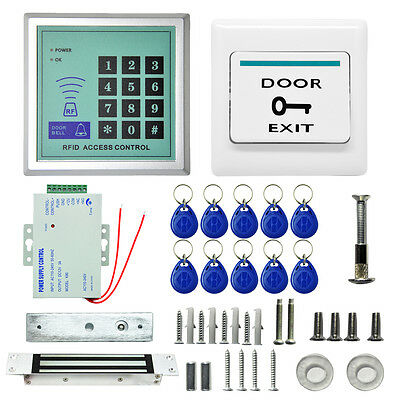 180KG Magnetic Electric Door Lock RFID Access Control ID Card/Password System