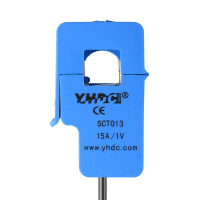 15A SCT-013-015 1M 3.5MM Non-invasive AC Split Core Current Transformer TE758