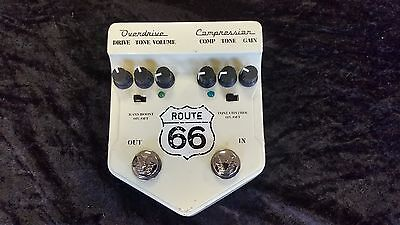 Visual Sound V2 Route 66 Distortion/comp Pedal,2Nd Hand From Demoboard*top Deal!