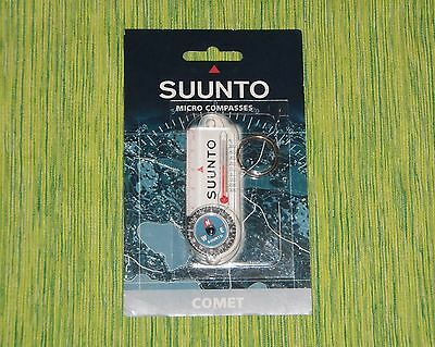 SUUNTO COMET Compass Thermometer keyring keychain NEW SEALED