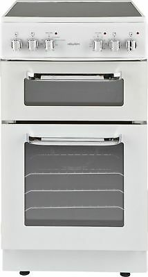 Bush BFEDC50W 50cm Free Standing Double Electric Cooker - White -From Argos ebay