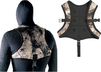 SEAC - Python Weight Vest - Max 6 Kg of Weights - Freediving Spearfishing