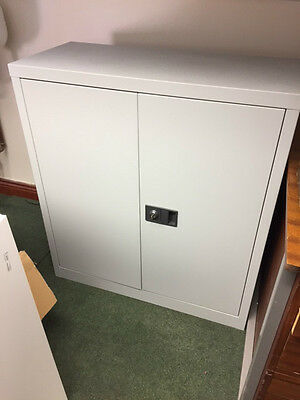 Office Cabinet two door light Grey