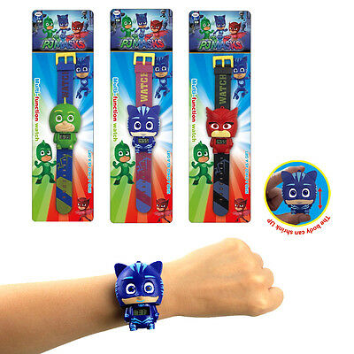 2017 Pj Masks Characters Catboy Gekko Owlette  Action Figure Watch Kids Gifts AU