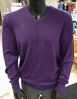 Galvin Green Pullover CURTIS Tour Edition NEU lila Gr.XXL STATT 99€ V-Neck Golf