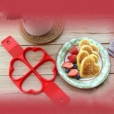 New 2017 Non Stick Flippin' Fantastic Nonstick Pancake Maker Egg Ring Maker Kitc