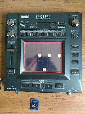 Korg Kaoss Pad 3 effects unit w/ SD & Power Cable