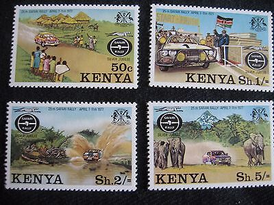 Kenya: 1977 25th Anniv of Safari Rally (MNH)