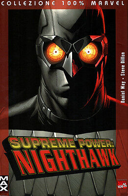 collezione 100% Supreme Power: NIGHTHAWK - Ed. Marvel Panini