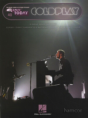 Coldplay EZ Play Today Very Easy Piano / Keyboard Sheet Music Book