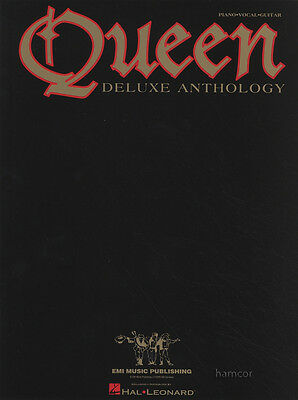 Queen Deluxe Anthology PVG Piano Vocal Guitar Sheet Music Book We Will Rock You