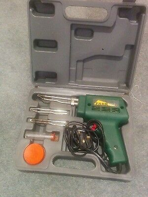 preowned parkside soldering gun 100W