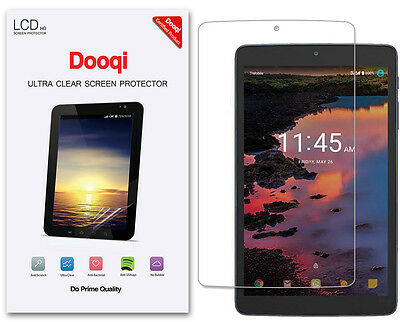 3X Dooqi HD Clear LCD Screen Protector Shield For Alcatel A30 Tablet 8-inch
