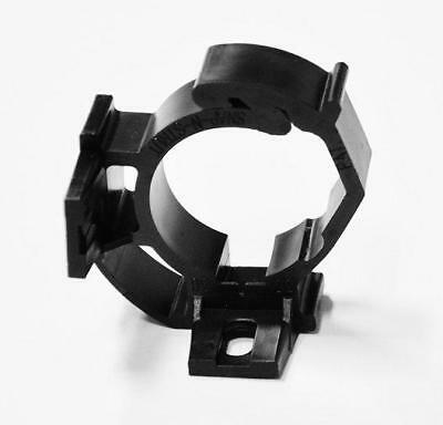 Qty 100, pipe clamp for 1 inch PVC, black color, nylon