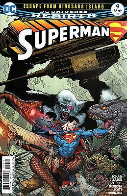 SUPERMAN #9 (DC 2016 1st Print) Rebirth COMIC