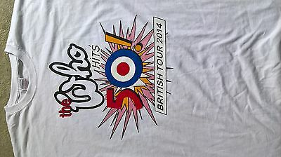 The Who UK 50th anniversary tour shirt 2014. Size Large.