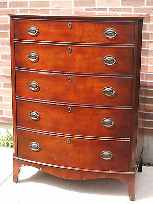 Kindel Grand Rapids Michigan 147/1 Oxford Mahogany Chest of Drawers / Dresser