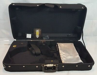 Guardian CV-032-M Deluxe Archtop Double Violin and Mandolin Case  4/4 SIZE