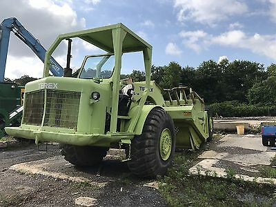 Terex Ts14 Scraper Recent Service And New Parts Runs Good