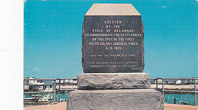 LEWES , Delaware , 50-60s ; Settlement monument, First Dutch colony
