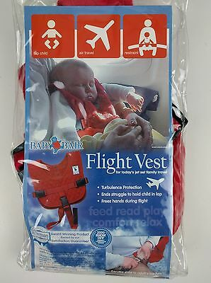 Baby B'Air Airline Flight Vest Airplane SAFETY Harness Large Toddler C01