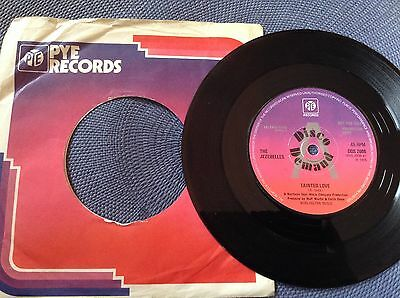 THE JEZEBELLES - TAINTED LOVE rare UK DEMO PROMO / NORTHERN SOUL / NEAR MINT !!!