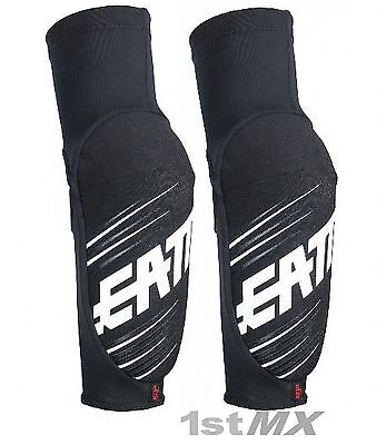 Leatt 5.0 3DF Elbow Guards Black Motocross OffRoad Race Enduro Adults XXL PAIR