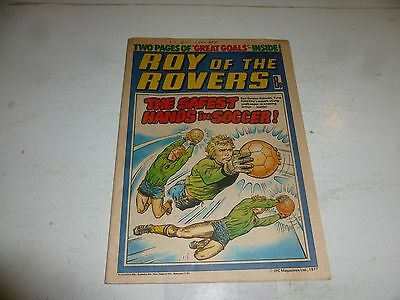 ROY OF THE ROVERS Comic - Year 1977 - Date 17/12/1977 - UK Paper Comic