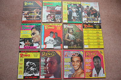 The Ring boxing magazines 1965 1967 1973-M Ali 1977 1979 1980-Rocky Marciano