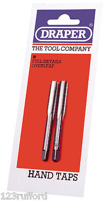 Draper Coarse Hand Taps Tap Taper and Plug Various Sizes 2mm to 12mm