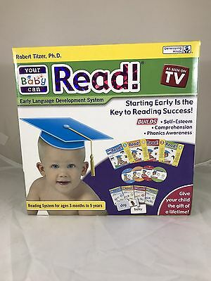 NIB - Your Baby Can Read Early Language Development System Complete Set