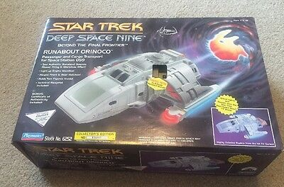 Playmates Star Trek Deep Space Nine Runabout Orinoco Mint In Sealed Box
