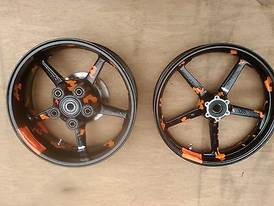 Ktm Rc8 Pair of wheels Brembo Front 3.50/17  Rear 6.00/17