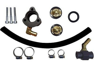 KLR650 Cooling System Modification Kit Thermo-Bob 2 1987-2017 HAMMERTONE
