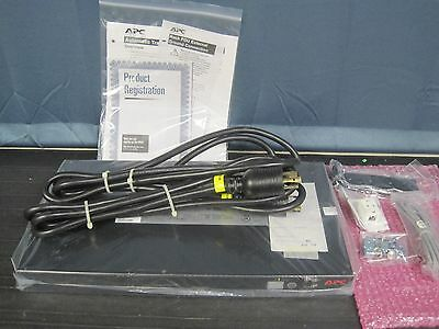 NEW APC AP7730 Rack ATS/20A 8-Outlet 120V Rackmount Transfer Switch