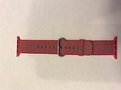 Genuine Apple Watch Woven Nylon Band 38mm Strap Pink