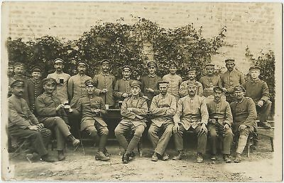 German Soldiers Original WW1 Photograph 1917 (A141)