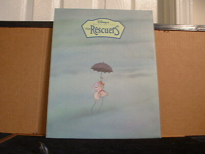 """Disney Store Lithograph: The RESCUERS 1999 11""""X14"""" Litho, Mat & Envelope"""