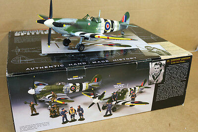 King & Country Raf042 Wwii Raf Wing Commander Johnnie Johnson Canadian Spitfire