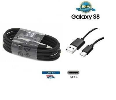 Genuine Samsung Type C USB 3.1 S8 8 Data Sync Charger power charging Cable USB-C