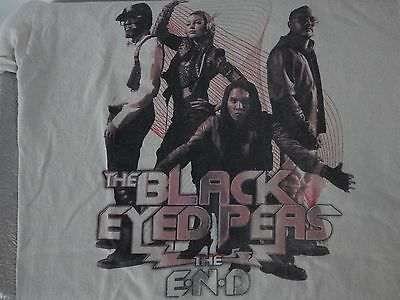 The Black Eyed Peas The End Tour 2010 Adult M Rock Tee T-shirt FREE SHIP
