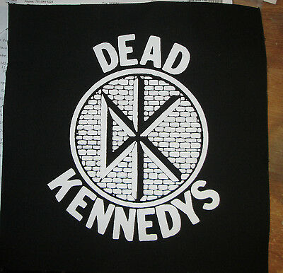 Dead Kennedys Collectable Rare Vintage Back Patch Embroided  Backpatch Punk