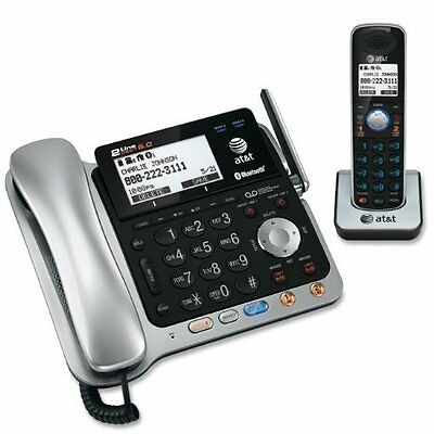 Vtech At&t Tl86109 Cordless Phone With Answering Machine - 2 X Phone Line[s]