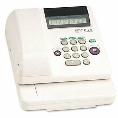 Max Memory Electronic Check Writer - 14 Digits / 1 Column - Business, Personal -