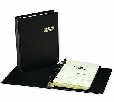Wilson Jones Loose-leaf Phone And Address Book - 3-ring - 1each (812B)