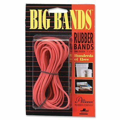 "Alliance Rubber Big Rubber Bands - 7"" Length X 0.13"" Width - (all00700)"