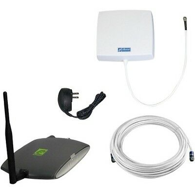 Zboost Reach Dual Band Cell Phone Signal Booster - 1850 Mhz, 824 Mhz To 1990