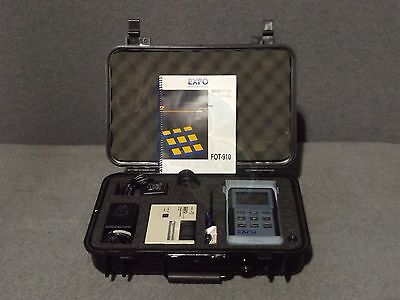 EXFO FOT-910 Fiber Optic Test Set Automated System